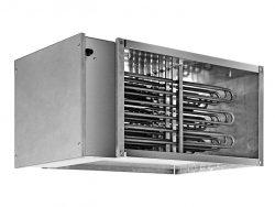 Электрические прямоугольные канальные нагреватели